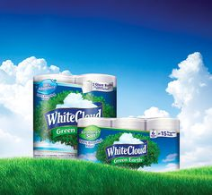 We believe in being kind to our planet, especially during #EarthMonth! White Cloud® GreenEarth® products are made from 100% recycled materials. They're already a great value, but now you can #savealittlegreen with our #coupon for up to $2 off.