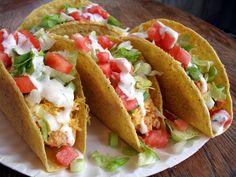Chicken Ranch Tacos