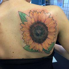 My sunflower tattoo☺️☺️