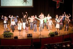 Chapel at Anderson University features guest speakers each week along with various groups on campus like SGA, CAB, and students from the School of Music, Theatre, and Dance.