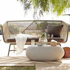 Huron Sofa – Gray/Seal