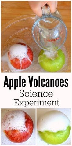 These apple volcanoe