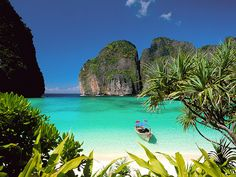 Phi Phi Don, Thailand. The most beautiful place I have ever been to.