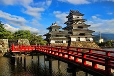 8 Places You Must Visit in Japan For us, Matsumoto Castle, also known as the 'Crow Castle', was the most beautiful castle we visited in Japan. Situated a 2-hours and a half train ride from Tokyo, it's black and white facade are of an unspeakable elegance.
