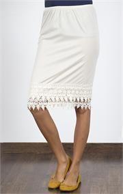 Crochet Pencil Skirt Extender Slip