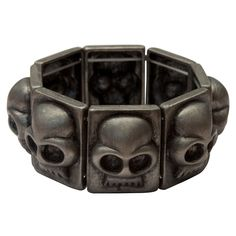 Skull Blocks Bracelet            by Kitsch 'n' Kouture