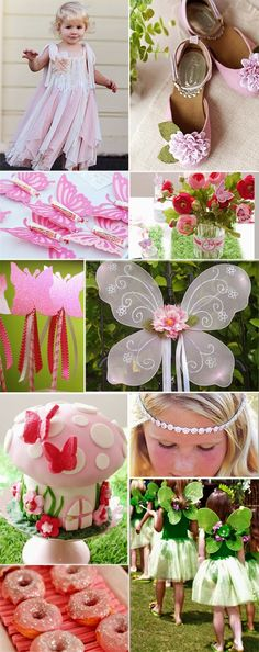 Pink Fairy Birthday Party, Pixie Fairy Birthday Party for Kids, Kids Party Ideas