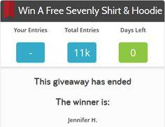 #Sevenly asked fans to tell them why they were passionate about ending sex trafficking & to donate to the cause. The winner won a free shirt and hoodie! #FWB40 #FacebookContests free shirt, fan