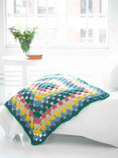 Crochet Granny Stitch Afghan - Free Pattern