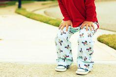 DIY basic boy pants