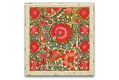 "Uzbekistan Patterns II   36"" x 38""  ($500.00)   $289.00  OneKingsLane.com"