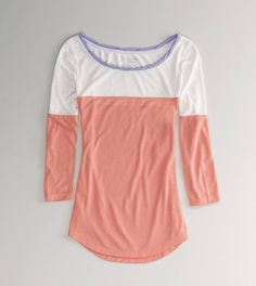 AE Feather Light Colorblock T-want this!