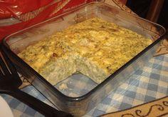 Pastel de brócoli al microondas. http://lasrecetasdeyoli.blogspot.com.es/2009/11/pastel-de-brocoli-en-micro.html