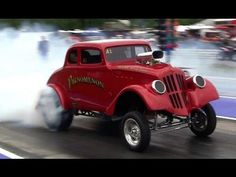 ▶ 2013 PA Gasser Nationals Steve Crook Blew By You Ed Kasicki AA/GS Time Runs Nostalgia Drag Racing - YouTube