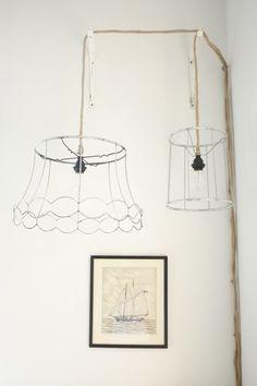 DIY: ghost lamps