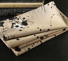 Spider napkins