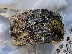 Metal & Mosaics Cuff - Cindy Gonzales