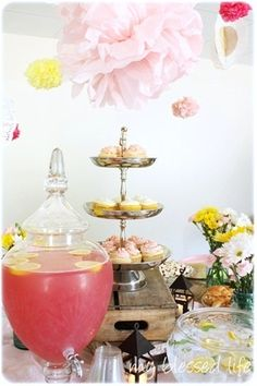 Pink Lemonade Baby Girl Shower #baby #shower