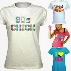 80s T-Shirt ideas for ladies