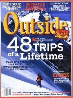 Outside Magazine, March 2004