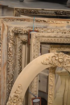 Fabulous painted frames available Sept 19-21, 2014 at www.chartreuseandco.com/tagsale, #anniesloane, #paintedframe,