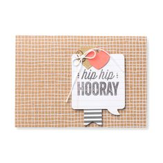 Hip Hip Hooray Card Kit - by Stampin' Up!