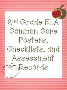 2nd Grade Common Core Language Pack (Apple Theme)