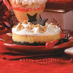 Individual Toffee Dream Cheesecakes Recipe from Taste of Home