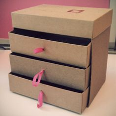 How to Make an Organizer Out of Old Birchboxes