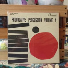 Command Records - the same studio that produced Bongos, Bongos, Bongos - gives us minimalist art album cover and sexy percussion. I feel hip just touching this vinyl, man. $9.98 at Central Square Records.