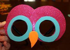 DIY Owl Mask