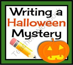 HALLOWEEN MYSTERY WRITING ACTIVITY: Powerpoint & Handouts Common Core from Presto Plans on TeachersNotebook.com -  (34 pages)  - This Halloween writing resource allows your students to develop their own spooky narrative. This product has everything you need to support your students in building their own Halloween mystery!