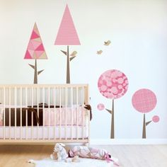Fabric wall decal