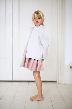 Cool pastels for Gravel + Grass spring 2014 girls fashion collection.