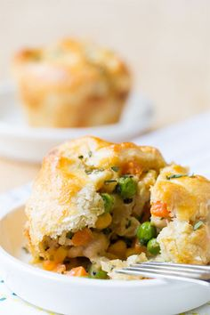 Mini Chicken Pot Pies. @Niki Kinney Sommer | A Spicy Perspective! Repin this recipe between now and May 31, 2014, and the Land O'Lakes Foundation will donate $1 to Feeding America. Help reach 2.7 million meals!