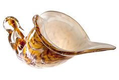 Murano Glass Shell Bowl on OneKingsLane.com