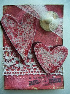 Valentine's Day ATC! (altered trading card)