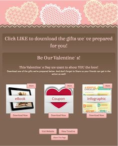 ShortStack Valentine's Day Template. For more V-day templates, go here: http://www.sociallystacked.com/2013/01/sweet-how-to-show-your-fans-some-love-for-valentines-day/#