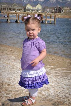 ruffl skirt