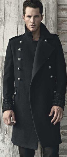 olli edward, militari precis, men style, military style, jackets, men fashion, cuffs, winter coats, man