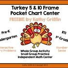 Download this fun, creative FREEBIE for your classroom!  Turn your pocket chart into an interactive 5 or 10 frame to use during whole group instruc...
