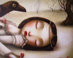 Blancanieves, de Benjamin Lacombe.