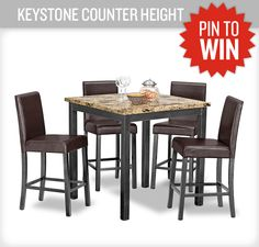 One of our best selling dinettes - the Keystone! #PerfectTablegate