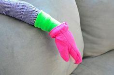 coutur accessoir, tutorials, coutur pour, fleec cuff, gloves, cuffs, mitten cuff, fleec mitten, cuff tutori