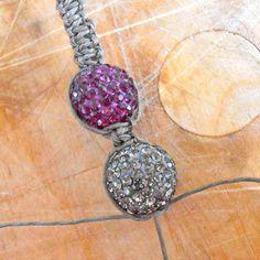 Another Shambala Bracelet Tutorial! love it! must try! #ecrafty
