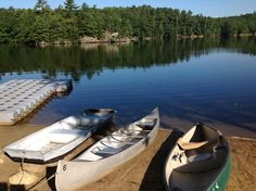 Beautiful morning for row boating. Beach Cove Waterfront Inn, Boothbay Harbor, Maine