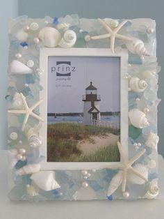 Beach Decor Shell Frame