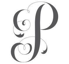 P #monogramme #P