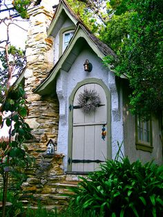 Hugh Comstock's original fairytale cottage in Carmel, Ca.
