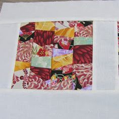 Wonky Stripe Quilt Block | Free Quilt Tutorial | FaveQuilts.com